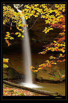 Shanty Hollow Falls by Keith Bridgman