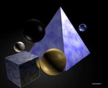 Shapes In Space by James Puckett