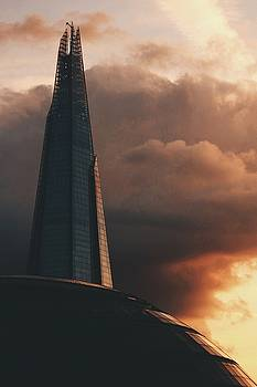 Shard at Sunset  by Milo Hale