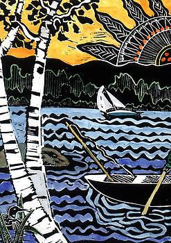 Jane Croteau - Sharing the Lake