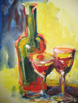 Sharing the Wine by Susan Jenkins