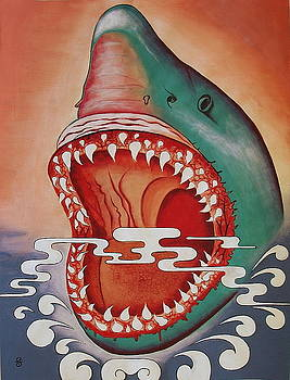 Shark by Silvia Gold
