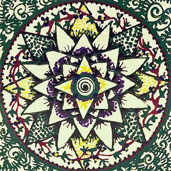 Sharon's tile by Kym Nicolas