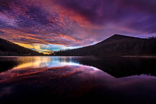 Sharp Top Sunrise by Steve Hammer