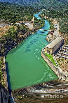 Shasta Lake Dam by Billie-Jo Miller