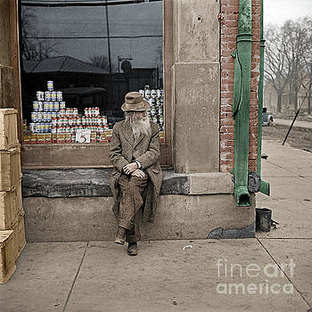 Shawneetown colourised by Russ Brown