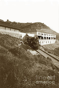 California Views Mr Pat Hathaway Archives - Shay engine No. 3  Summit of Mount Tamalpais circa 1910