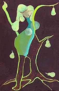 She Bares Pears by Ricky Sencion