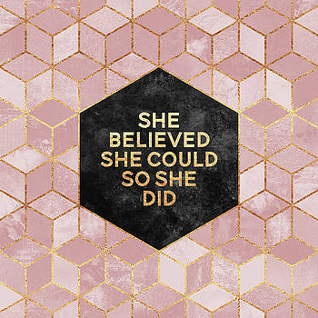 She believed she could by Elisabeth Fredriksson