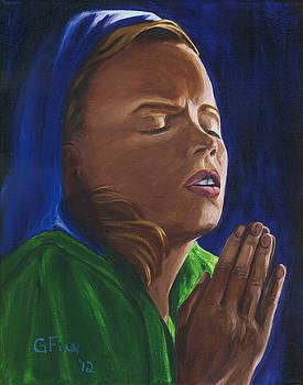 She Prays by Gail Finn