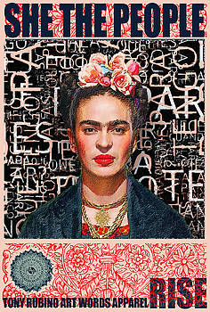 She The People Frida by Tony Rubino