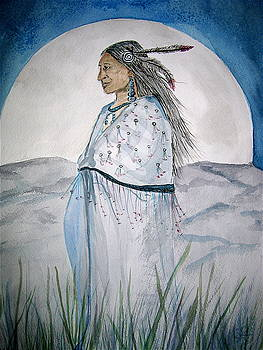 She Walks at Night by K Hoover