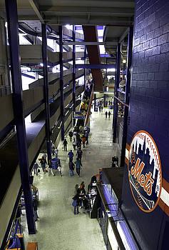 Shea Stadium Walkways by Paul Plaine