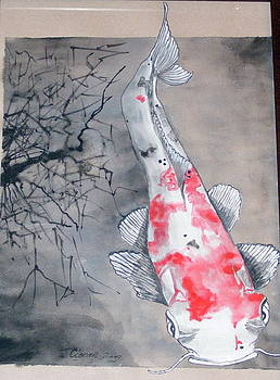 Sheat Fish Koi by Ciocan Tudor-cosmin