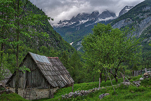 Shed in the Pass by Stuart Litoff