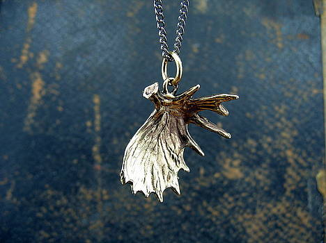 Shed Moose Antler Pendant by Michael  Doyle