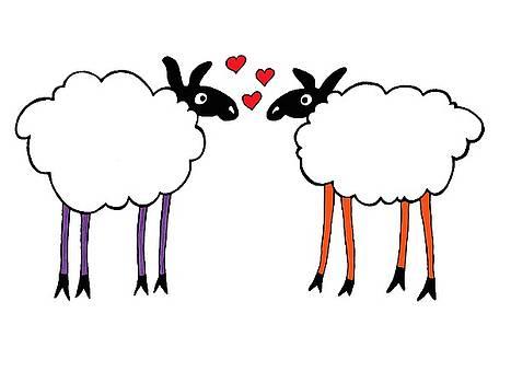Sheep Love by Sarah Rosedahl