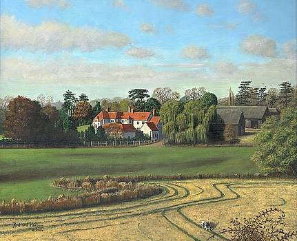 Sheering Hall Near Harlow Essex by Richard Harpum