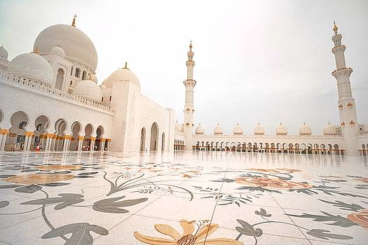 Sheikh Zayed Mosque by Mike Dunn