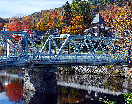 Shelburne Falls by Mark Wiley