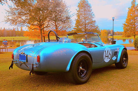 Shelby Cobra at the Lake by Nate Heldman