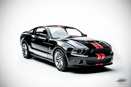 Shelby Mustang by Adnan Bhatti