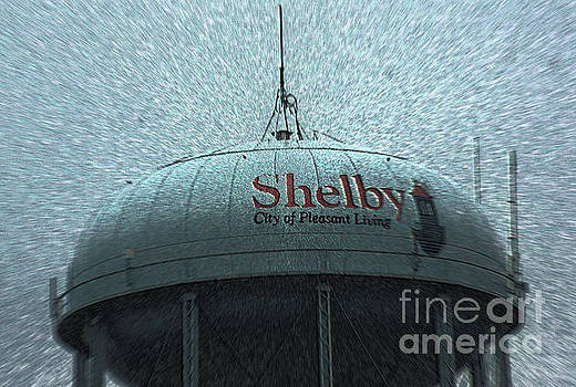 Shelby North Carolina Water Tower by Kim Pate