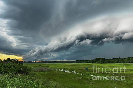 Shelf Cloud by Joshua Blash