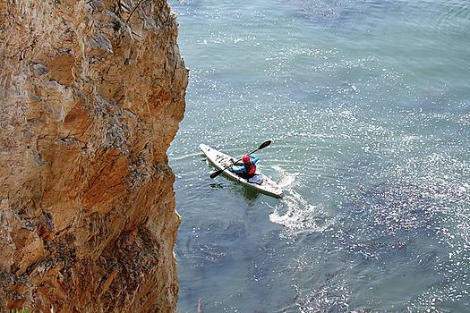 Art Block Collections - Shell Beach Kayaker