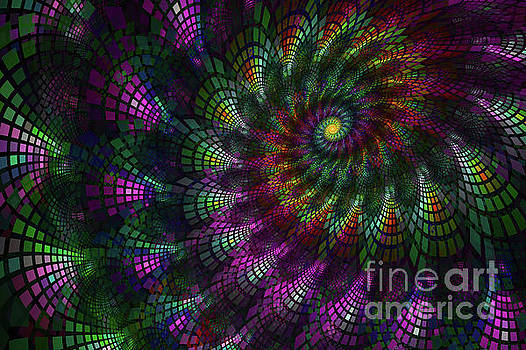 Shell Fractal by Sari ONeal
