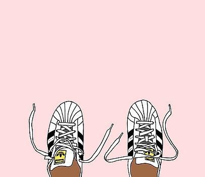 Shell Toe Adidas by Cortney Herron