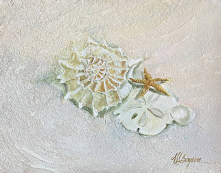 Shells in Pensacola Sand by Maryann Boysen