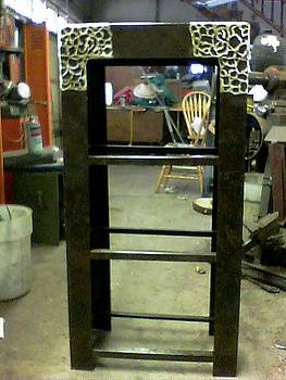 Shelves for Vanity Set by Don Thibodeaux