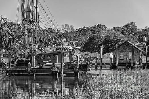 Dale Powell - Shem Creek Black and White