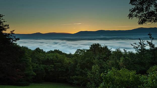 Lara Ellis - Shenandoah Sunrise Pre-dawn Glow