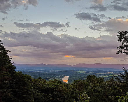 Shenandoah Valley August Sunset by Lara Ellis