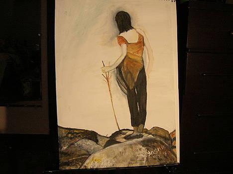 Sheprd Girl by Zeenath Diyanidh