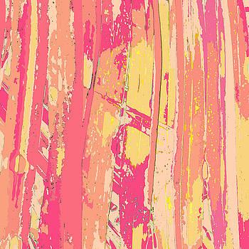 Sherbet Palms by Rosie Brown
