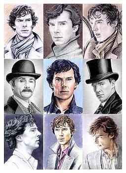 Sherlock montage by Wu Wei