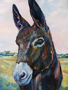 Sherpard Donkey by Angela Craver