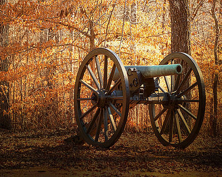 Shiloh Civil War Cannon by TnBackroadsPhotos