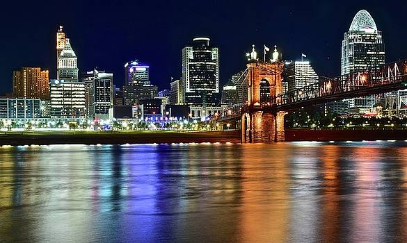 Cincinnati Shimmer and Shine by Frozen in Time Fine Art Photography