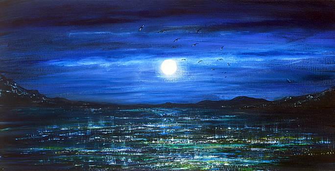 Shimmering Sea by Ann Marie Bone