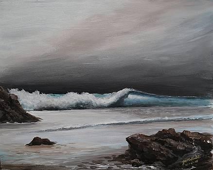 Shimmering Sea by Bob Hasbrook
