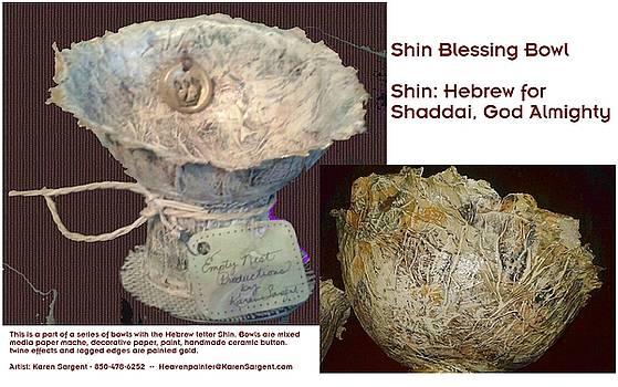 Shin Blessing Bowl by Karan Sargent