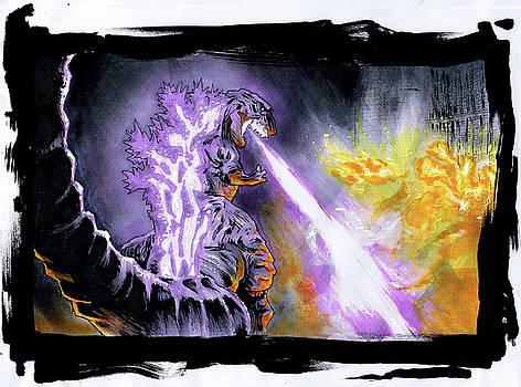 Shin Godzilla  by Aug Kim