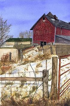 Vicky Lilla - Shingled Barn on BB