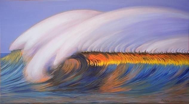Shining wave by Chikako Hashimoto Lichnowsky