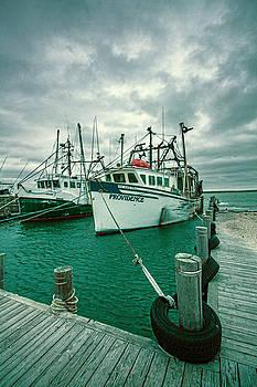 Shinnecock Fishing Vessels by Robert Seifert