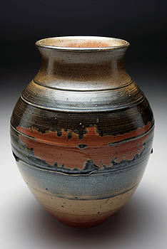 Shino Vase 1 by Andrew Deem